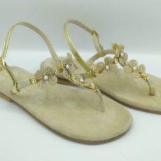 Sandali con gioello