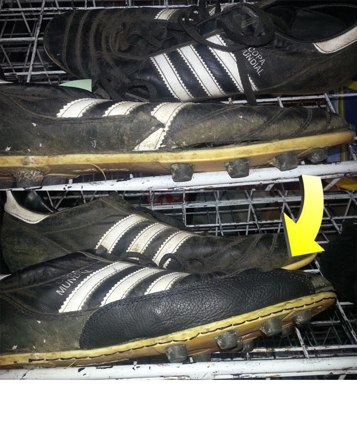 Toppa scarpe da calcio